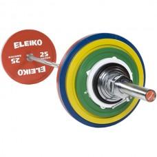 Штанга Eleiko для соревнований по пауэрлифтингу 185 кг. (железо), код: 3000228