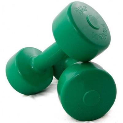 Гантелі для фітнесу FitGo Titan 2x3 кг, код: 37499