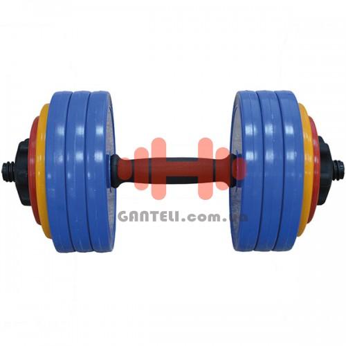 Гантель разборная InterAtletika 18,82 кг, код: GN-20