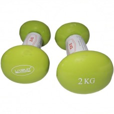 Гантели LiveUp 2х2 кг, код: LS2001-2