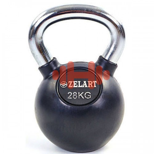 Гиря обрезиненная Zelart 28 кг., art: TA-5162-28
