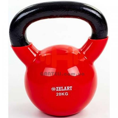 Гиря Zelart 20 кг, код: TA-5161-20