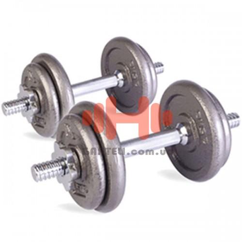 Гантель наборная LiveUp 1х15 кг., код: LS2311-15
