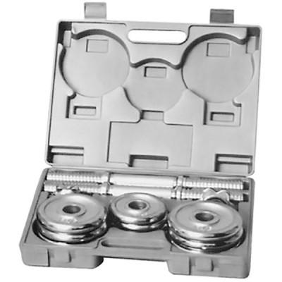 Гантель в наборе хромированная HouseFit 2x8 кг., код: DB301