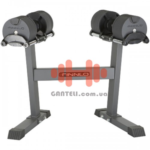 Гантели со стойкой Finnlo Smart Lock 2x20 кг, код: F-6772
