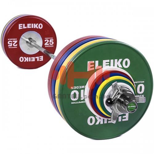 Штанга Eleiko параолимпийская 190,5 кг. (обрезиненая), код: 3002309