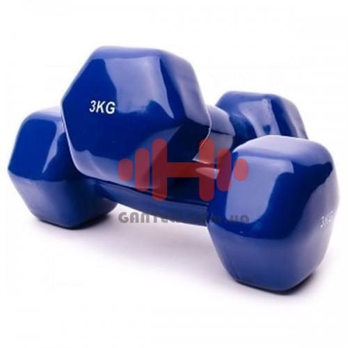Гантель для фитнеса Alex 1х3, код: VDD-03