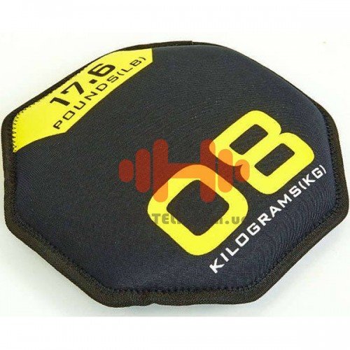 Гантель FitGo 1х8 кг, код: FI-5718-8