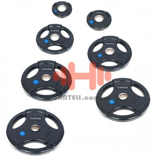 Комплект дисков Training ShowRoom Gym Deluxe 105 кг (обрезиненные D=50 мм), код: A02.03.001