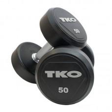 Гантель TKO Pro 18 кг, код: K828RR-18