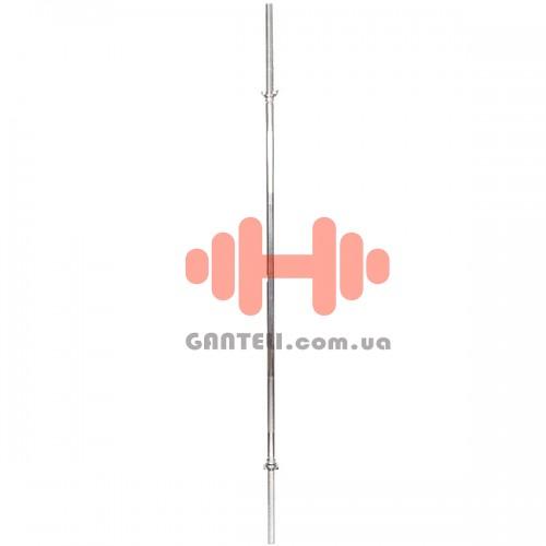Гриф - HouseFit тренировочный 2120 мм., D=30мм., код: BR212S