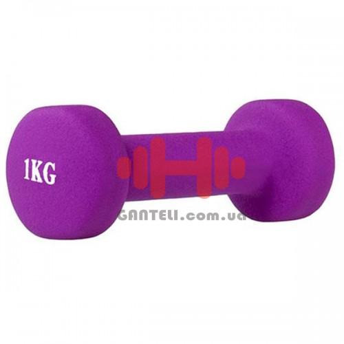 Гантель для фитнесса HMS 1 кг, код: 17036-10