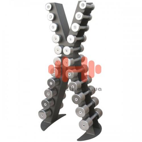 Стойка под гантели (0,5 - 10 кг) InterAtletika Xline, код: X410