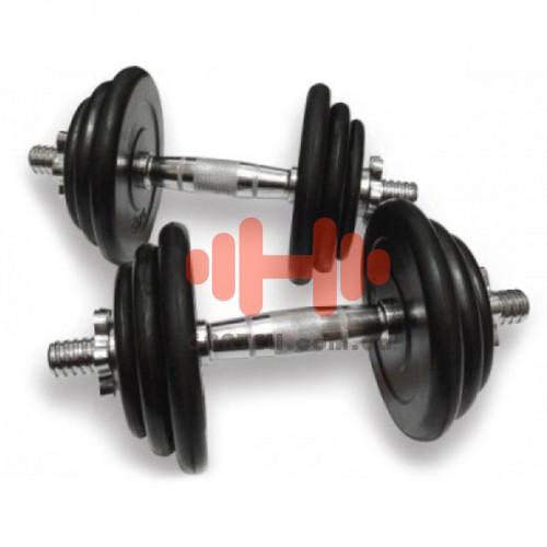 Гантели наборные Alex: 2 шт х 15,5 кг., код: DB-02-31