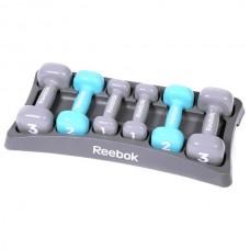Гантели для фитнеса Reebok 1,2,3 кг х 2 шт., код: RAWT-11156
