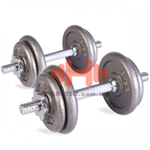 Гантель наборная LiveUp 1х20 кг., код: LS2311-20