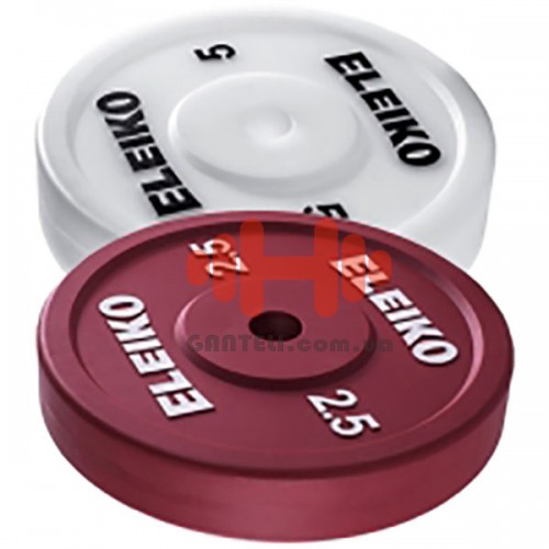 Диск Eleiko: технический D=50 мм. 2,5-5 кг., код: 300139Х