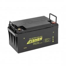 Гелевый аккумулятор Fisher 65Ah 12B, код: 65Ah 12B Fisher
