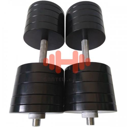 Гантель CrossGym 46 кг (пара), код: SG46
