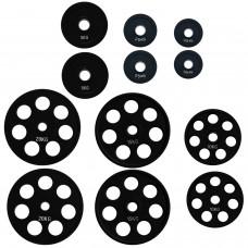 Комплект дисков Alex 105 кг (обрезиненные D=50 мм), код: RCP18