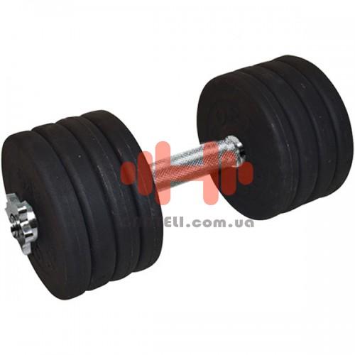 Гантель CrossGym 42,5 кг, код: A00320