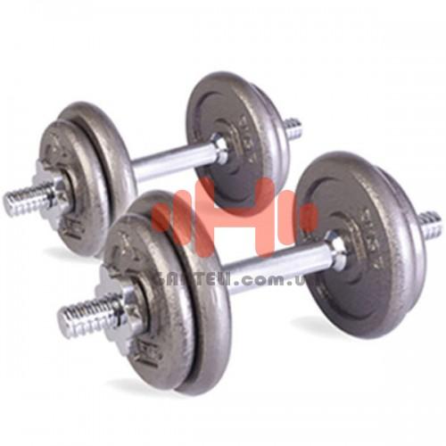 Гантель наборная LiveUp 1х10 кг., код: LS2311-10