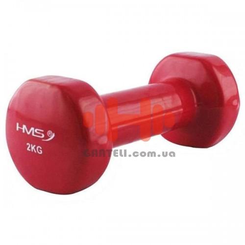 Гантель для фитнесса HMS 2,0 кг, код: 17023-20