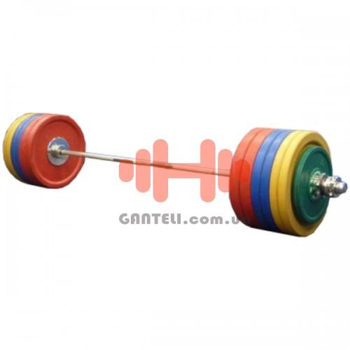 Комплект дисков Dynamo 105 кг (обрезиненные D=50 мм), код: DL-DR