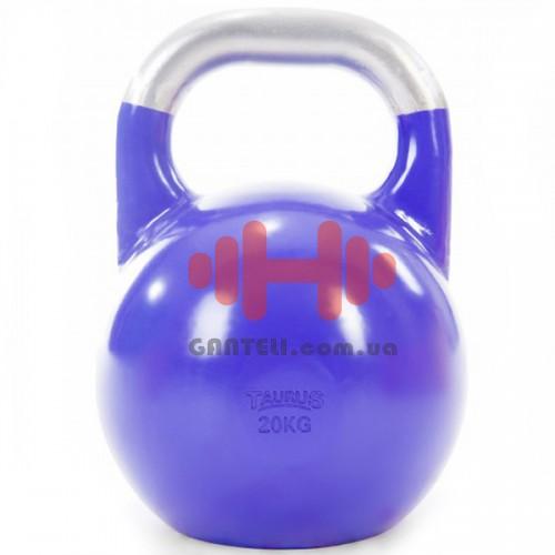 Гиря Taurus 20 кг, код: TF-KBC001-20