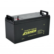 Гелевый аккумулятор Fisher 120Ah 12V, код: 120Ah