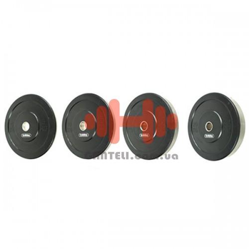 Комплект дисков Training ShowRoom 100 кг (бампер D=30 мм), код: A02.02.001