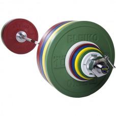 Штанга Eleiko спортивная мужская 190 кг. (обрезиненая), код: 3002228