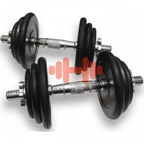 Гантели наборные Alex 2х19,5 кг, код: DB02-39