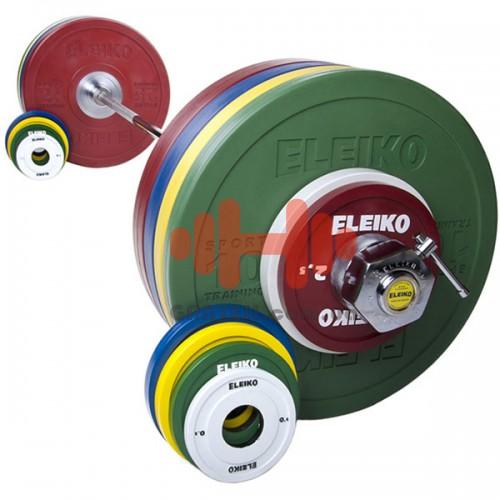 Штанга Eleiko спортивная мужская 185 кг. (обрезиненая), код: 3002229