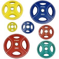 Комплект дисков Stein 105 кг (обрезиненные D=50 мм), код: DB6092-XX