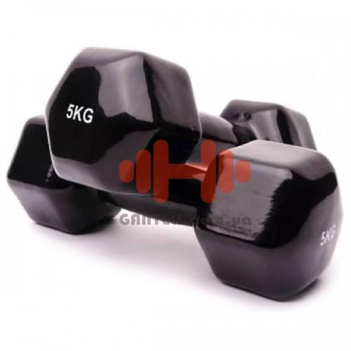 Гантель для фитнеса Alex 1х5, код: VDD-05