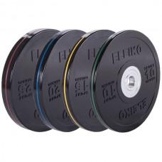 Комплект дисков Eleiko 140 кг (обрезиненный D=50 мм), код: 3001950-XX