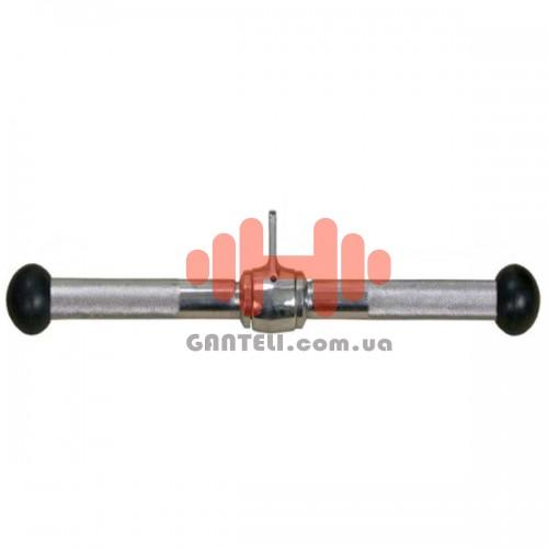 Ручка для тяги InterAtletika прямая 460 мм., код: E5-12