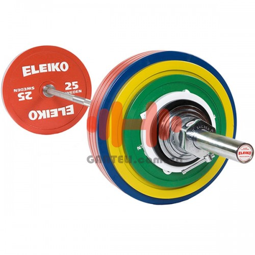 Штанга Eleiko тренировочная для пауэрлифтинга 285 кг. (железо), код: 3002313
