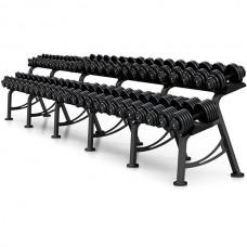 Гантельный ряд Marbo-Sport 6 пар (10-20 кг.), art: MP-SH4-56