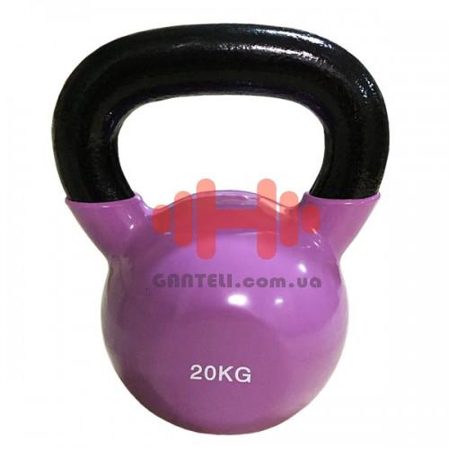 Гиря виниловая Rising 20 кг., код: DB2174-20