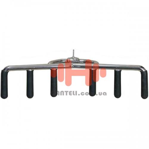 Ручка для тяги InterAtletika снизу 3-х позиционная, код: E5-06
