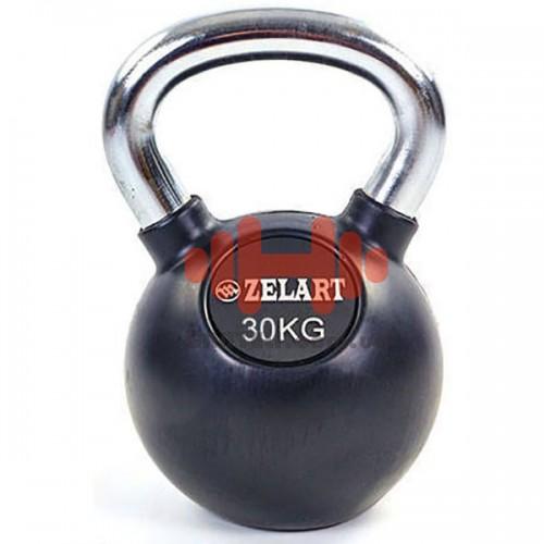 Гиря обрезиненная Zelart 30 кг., art: TA-5162-30