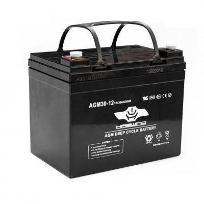 AGM аккумулятор Haswing 30Ah 12V, код: 30Ah agm H