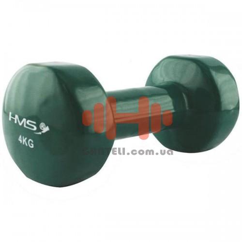 Гантель для фитнесса HMS 4,0 кг, код: 17023-40