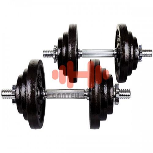 Гантель разборная Hop-Sport 2х20 кг, код: HD215