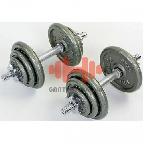 Гантели CrossGym 2х10 кг, код: TA-1920-20P